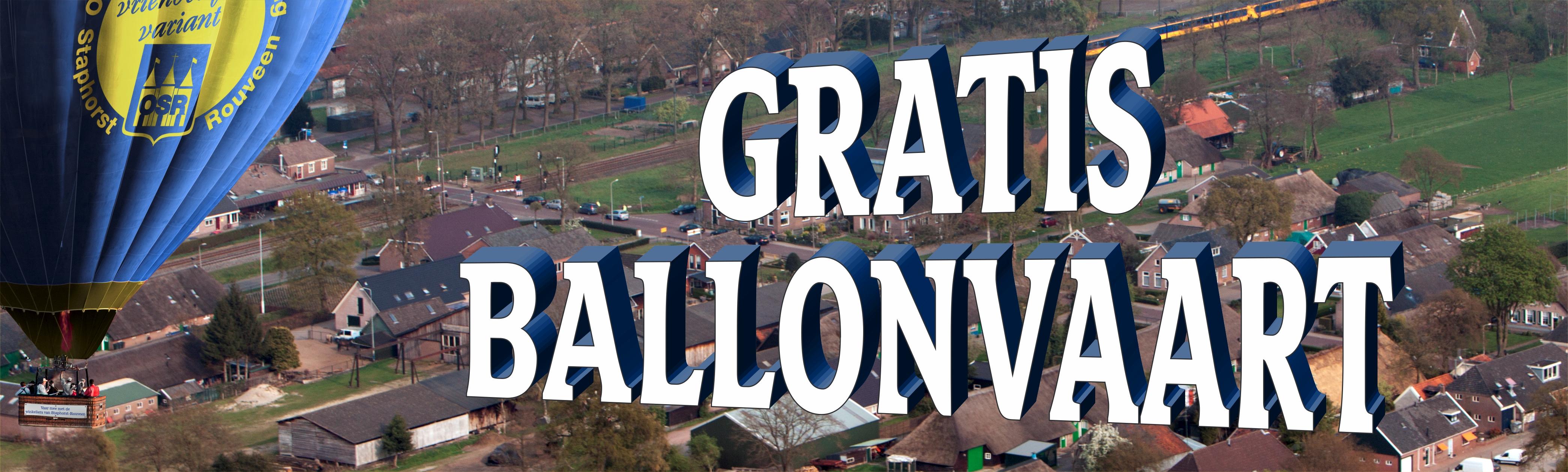 Gratis Ballonvaart
